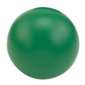 Pelota Lisa Anti-Stress Color Verde
